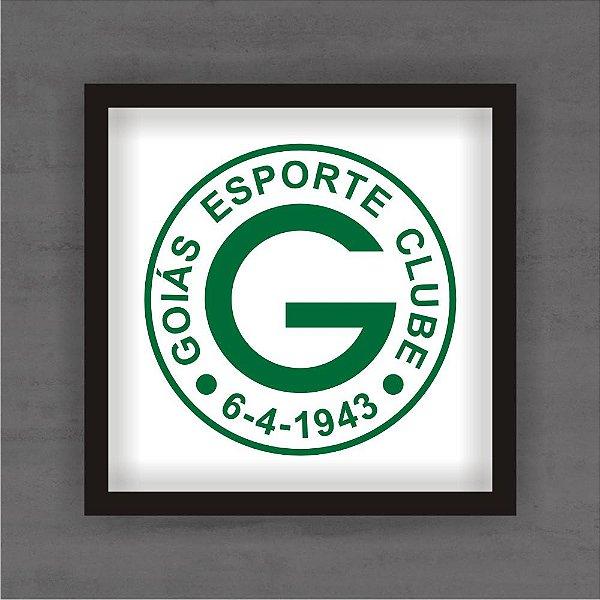 Quadro Decorativo Goiás Com Moldura