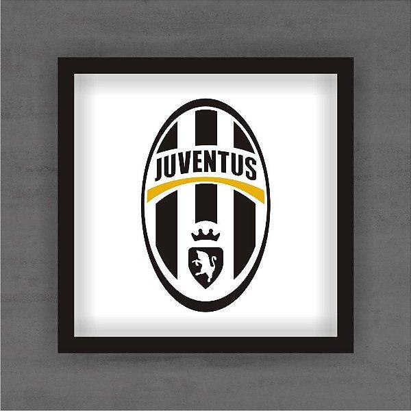 Quadro Decorativo Juventus Com Moldura
