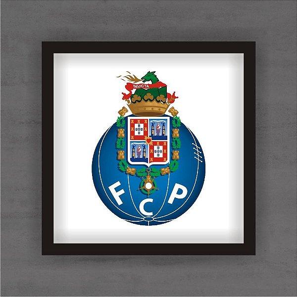 Quadro Decorativo Porto Com Moldura