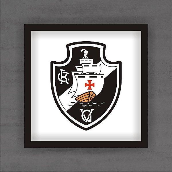 Quadro Decorativo Vasco Com Moldura