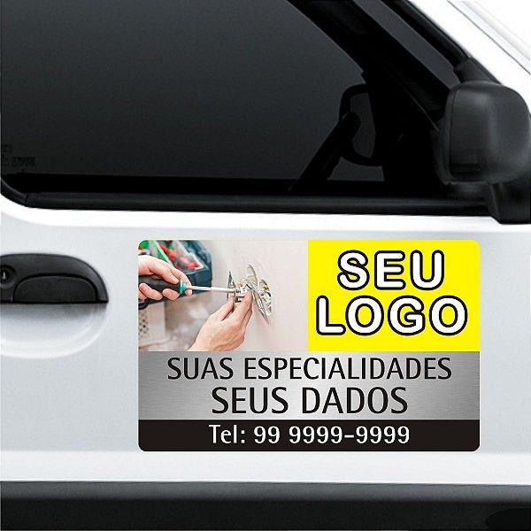 Manta Magnética Ímã de Propaganda para Carros Veículos Vans