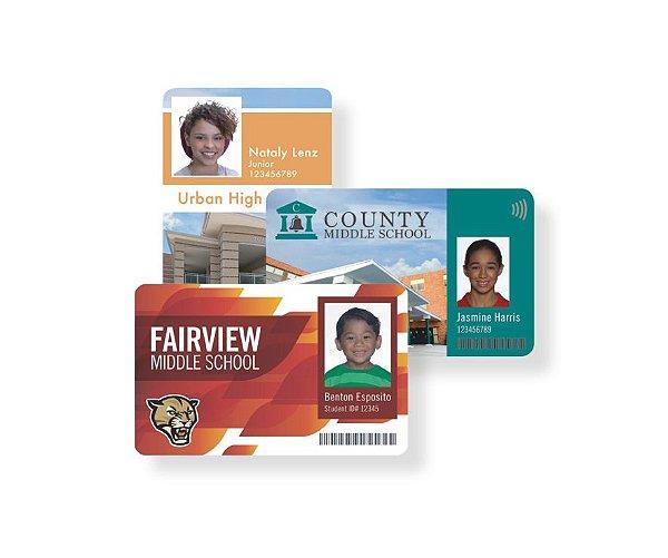 Crachá em PVC - credencial - cartão fidelidade