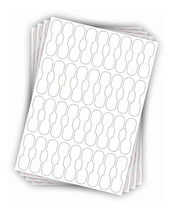 Adesivo Etiqueta Organizador - Identificador De Fios E Cabos em Branco