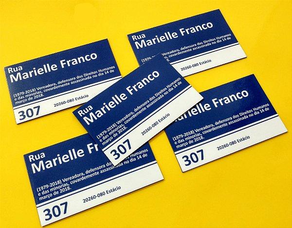 Kit 5 Ímãs De Geladeira Marielle Franco