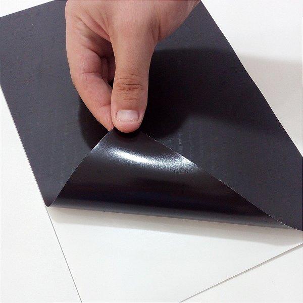 5 Folhas Manta Magnética Adesivada A4 0,3mm Lembrancinha