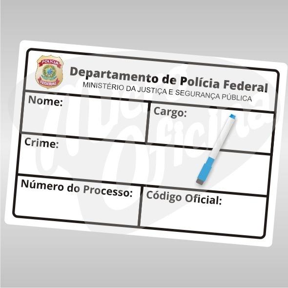 Placa Plaquinha De Crime Chá De Panela Bar Festa