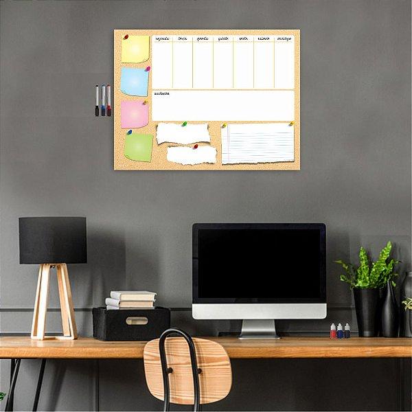 Quadro Planejamento Mensal Planner Diario Tarefas MOD05