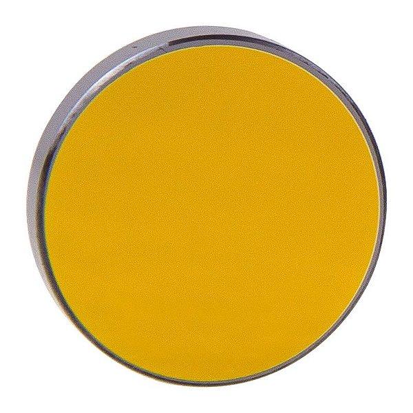 Espelho maquina corte Laser CO2 25mm x 3mm banhado a ouro