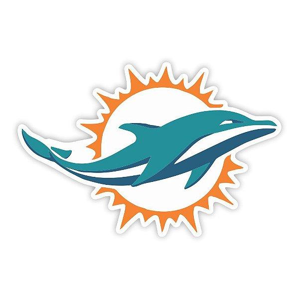 Quadro Decorativo NFL Futebol Americano Miami Dolphins