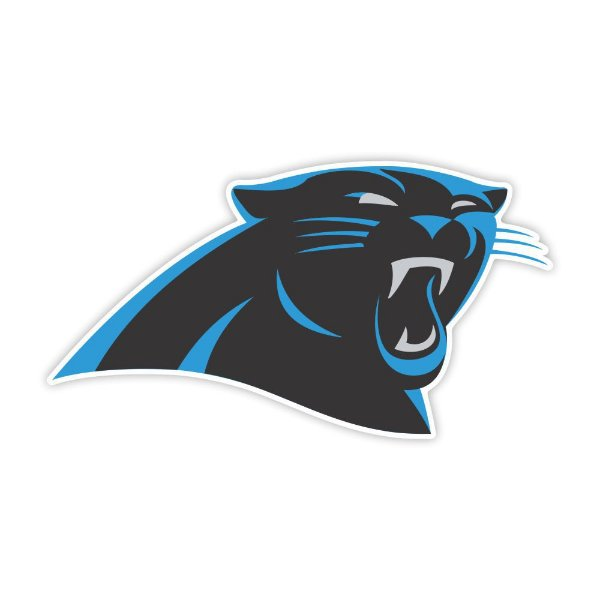 Quadro Decorativo NFL Futebol Americano Carolina Panthers