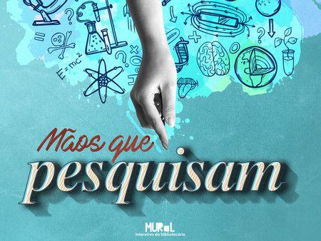 MÃOS QUE PESQUISAM (Mouse pad)