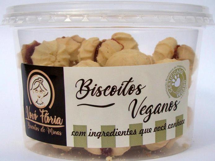 Biscoito Vegano sabor goiabinha 250g - Vovó Flória