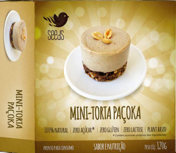Mini Torta Paçoka 120g - SEEdS