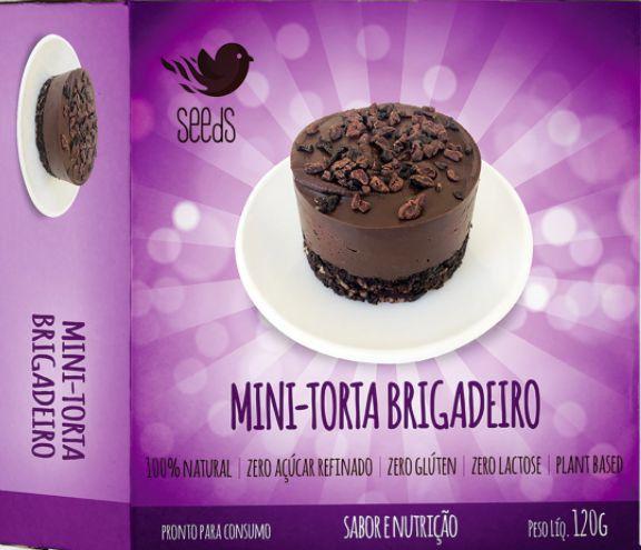 Mini Torta Brigadeiro 120g - SEEdS
