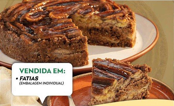 Torta de Banana Integral 200g - Delícias do Forno