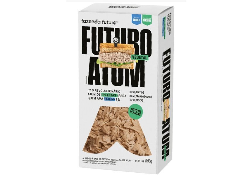 Atum Vegetal 150g - Fazenda Futuro