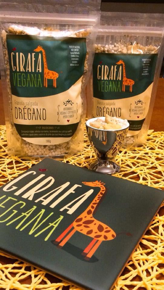 Granola Salgada De Orégano 90g - Girafa Vegana