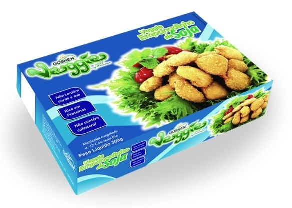 Empanadinho De soja  Veggie (Nugget) 300g - Goshen