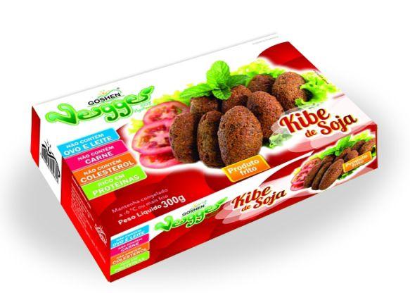 Kibe De Soja Veggie 300g - Goshen