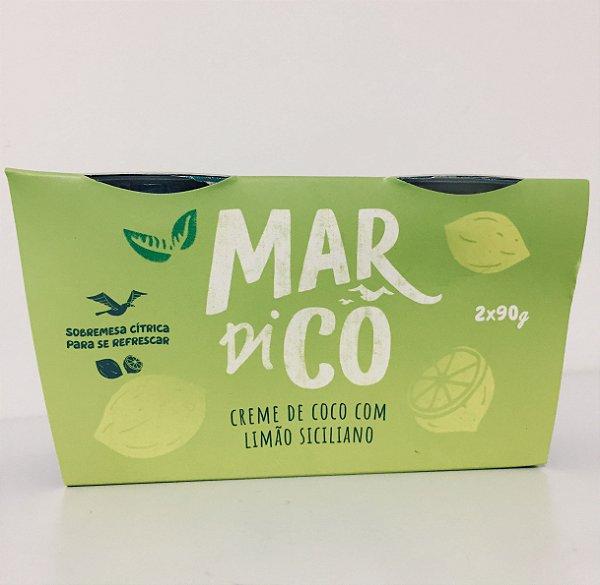Creme De Coco De Limão Siciliano 180g - Mardicô