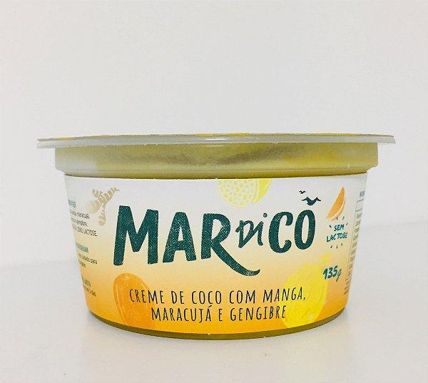 Creme De Coco De Manga, Maracujá E Gengibre 135g - Mardicô