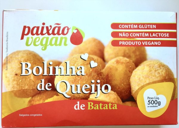 Bolinha De Queijo 500g - Paixão Vegan