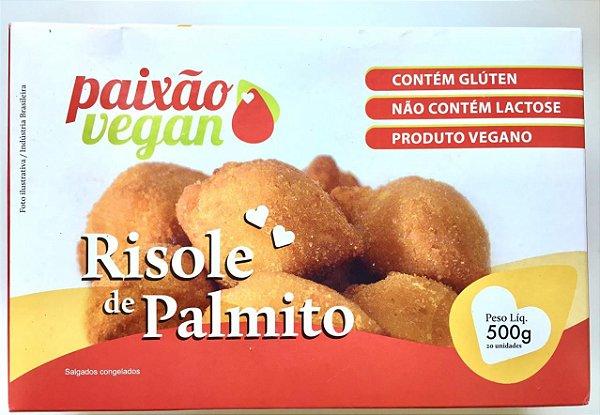 Risole De Palmito Vegano 500g - Paixão Vegan