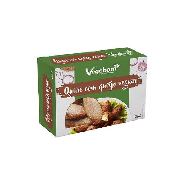 Quibe Recheado Com Queijo Vegano 400g - Vegabom