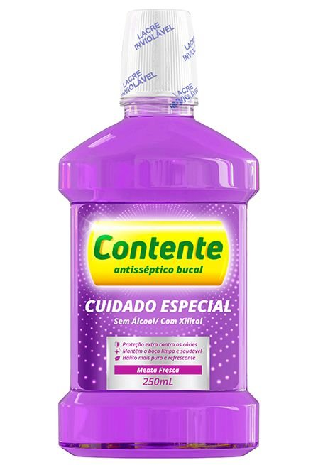 Antisséptico Bucal Cuidado Especial 250ml - Contente