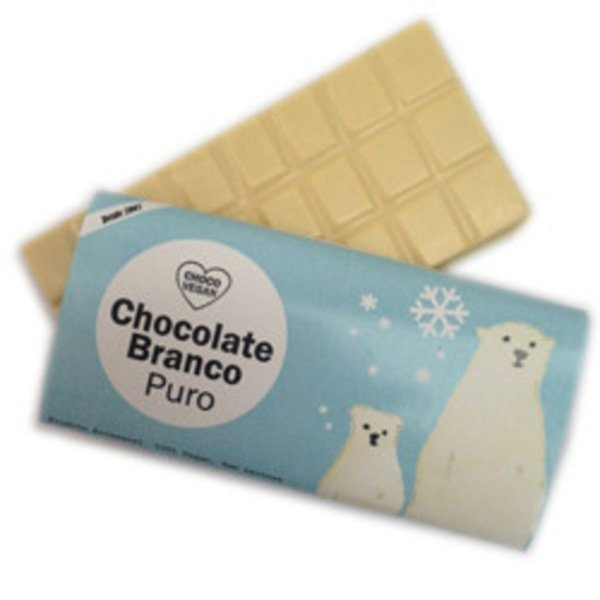 Chocolate Branco Puro - ChocoVegan