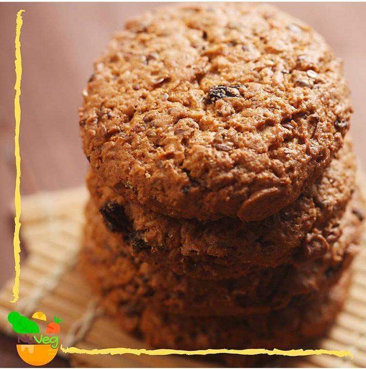 Cookies de amêndoas e nozes 110g - NuVeg