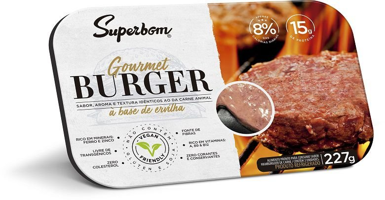 Gourmet burger 227g - Superbom