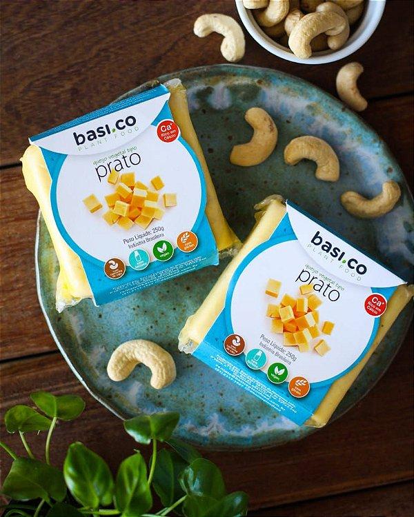 queijo prato de castanha de caju 250g - basi.co