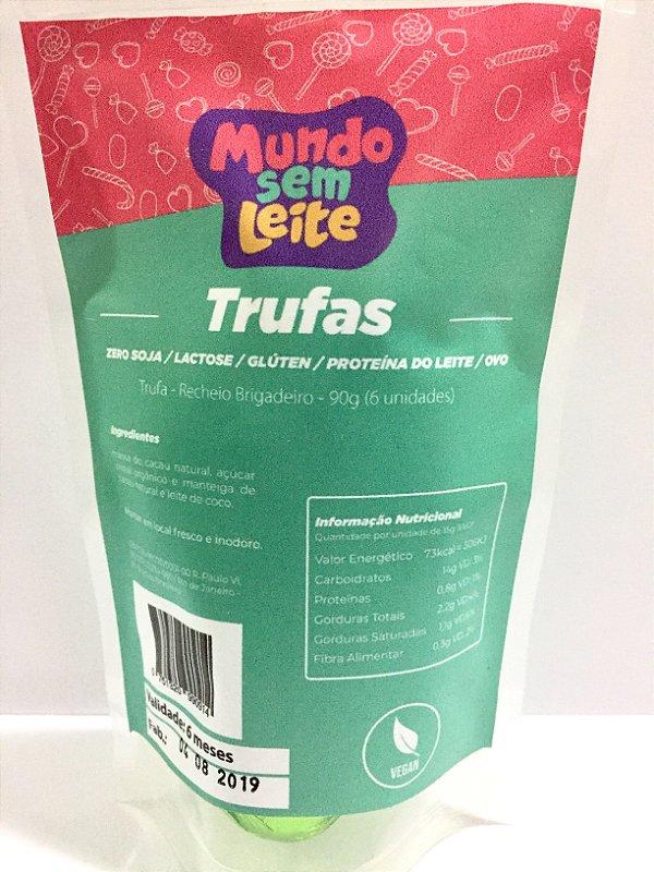 Trufas de chocolate 90g - Mundo Sem leite