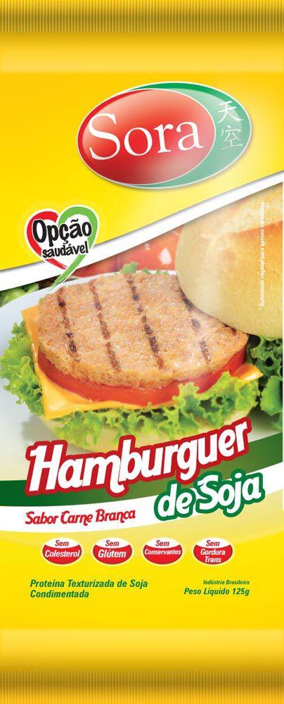 Hambúrguer Vegetal Sabor Carne Branca 110G - Sora