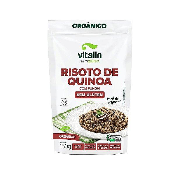 Risoto de Quinoa com Funghi Sem Glúten 150g - Vitalin