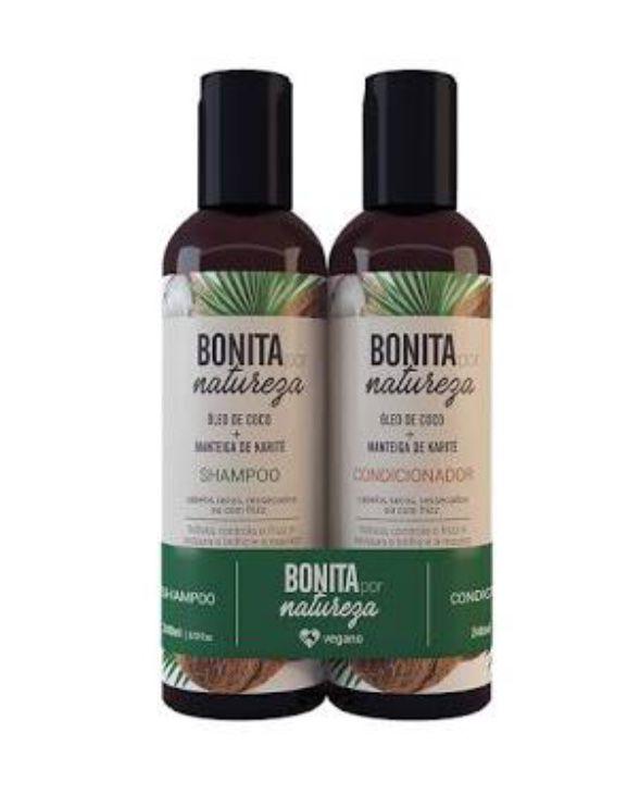 kit shampoo + condicionador - Bonita por Natureza