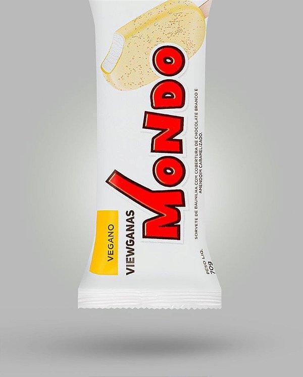 Sorvete MONDO branco 70g - Viewganas