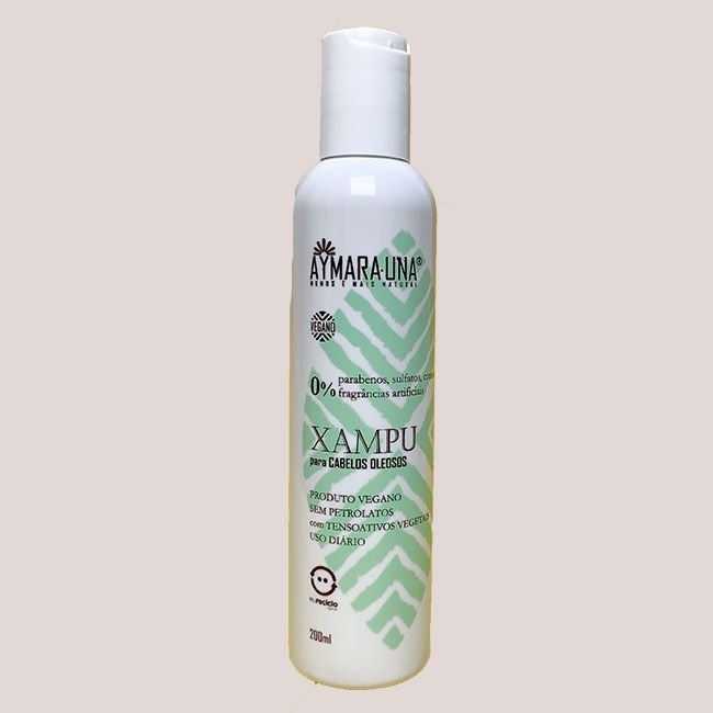 Xampu para cabelos oleosos 200mL - Aymarauna
