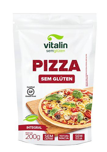 Mistura Integral para Pizza Sem Glúten 200g - Vitalin