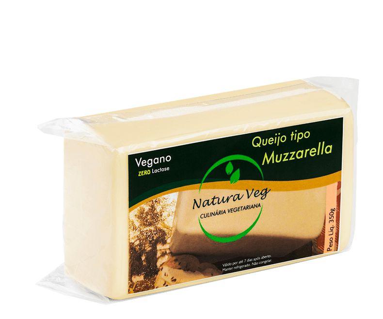 Mussarela vegetal 350g - Natura Veg