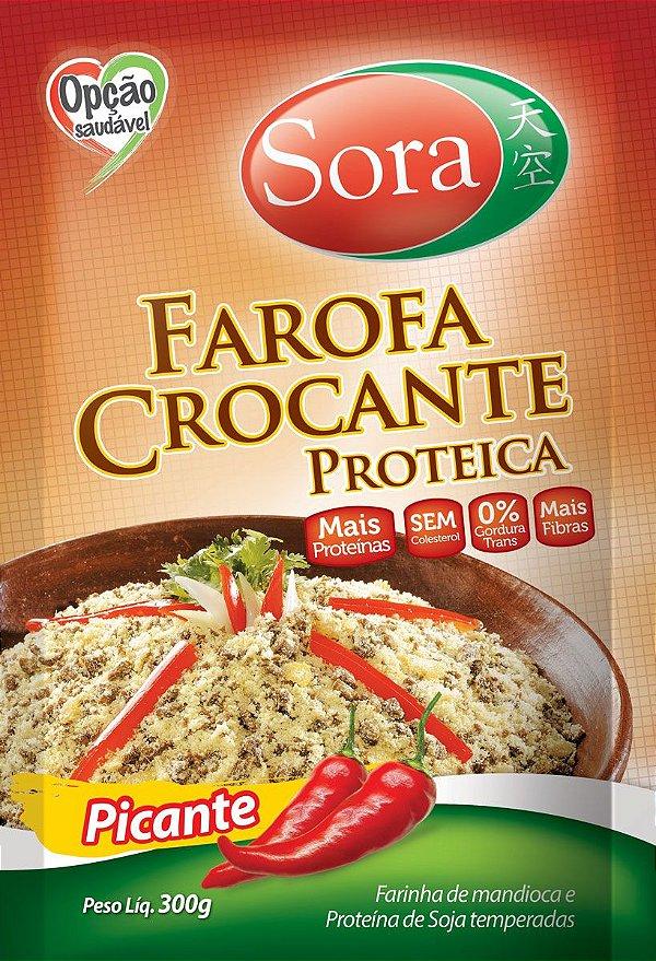 Farofa Proteica Picante 300g - Sora