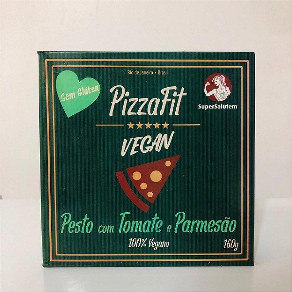 PizzaFit Pesto com Tomate e Parmesão 160g - SuperSalutem