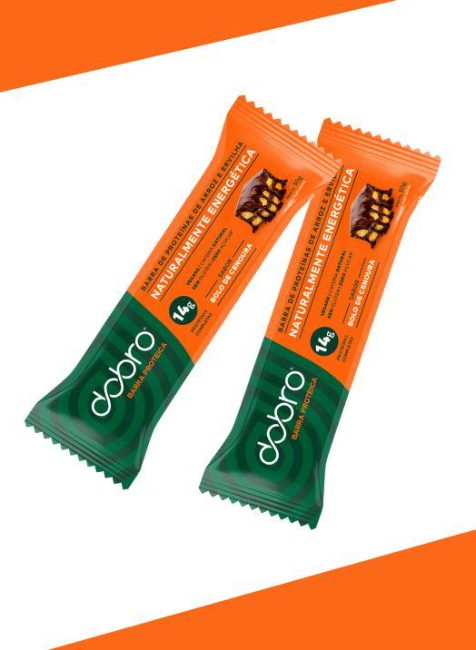 Barra Proteica Bolo de Cenoura 50g - Dobro
