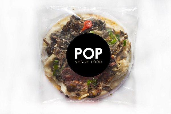 Pizza Mix de Cogumelos 18cm - Pop Vegan