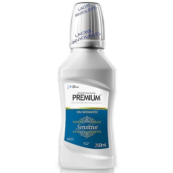 Enxaguante bucal premium sensitive 250mL - Contente