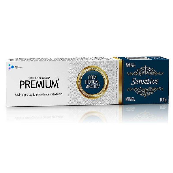 Creme dental premium sensitive 100g - contente