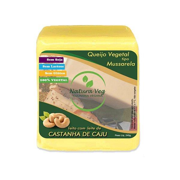 Mussarela de castanha de caju 240g - natura veg