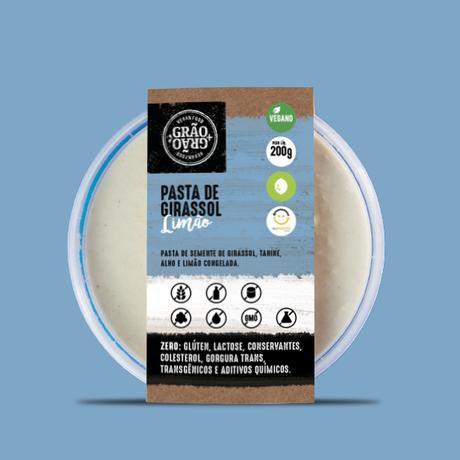 Pasta de girassol 200g - Grão+grão