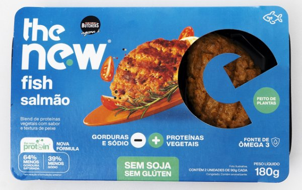 The New Fish Salmão 180g - The New